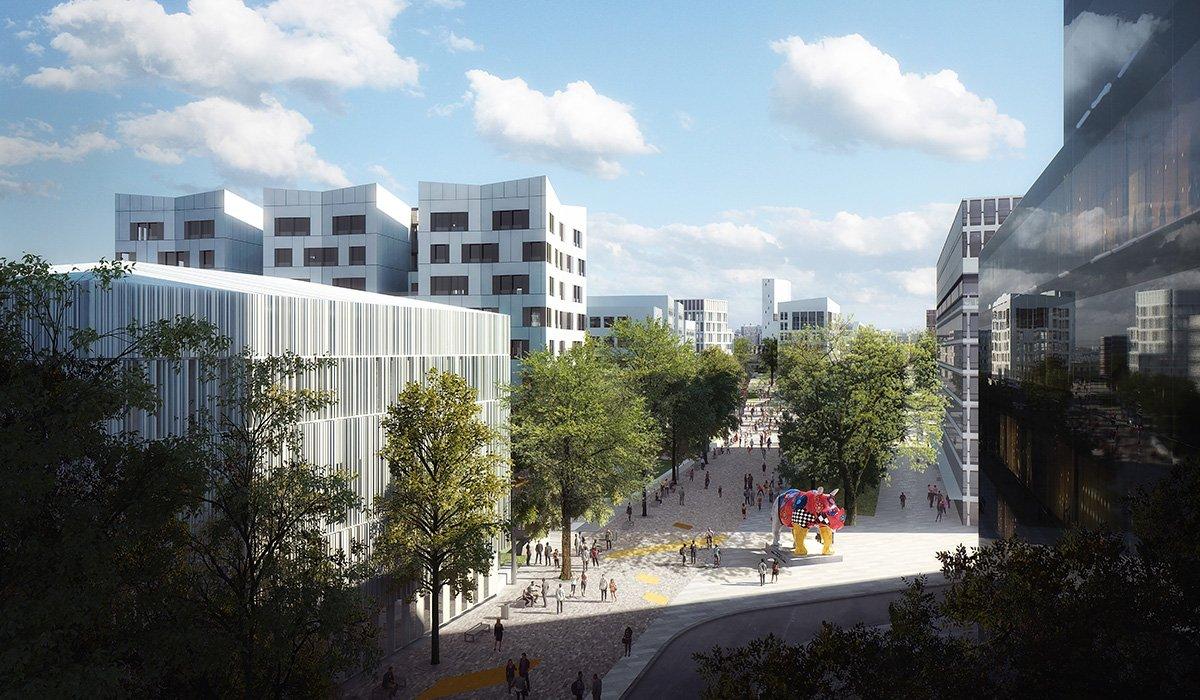 Campus Condorcet Greenway