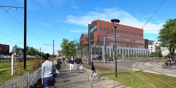 New Nantes nouveau campus